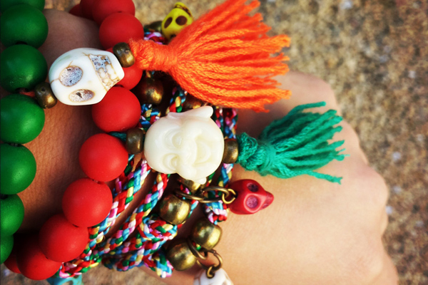 Colored summer style bracelets