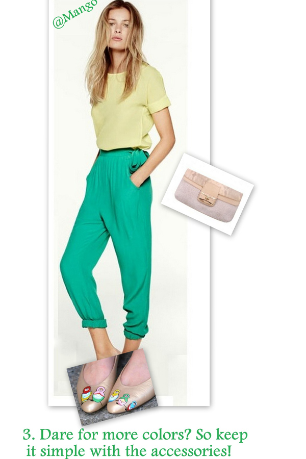 style-advisor-green-pants-yellow-blouse-mango-golden-shoes-model-blog-hipster