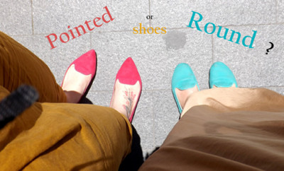 shoes round or pointed