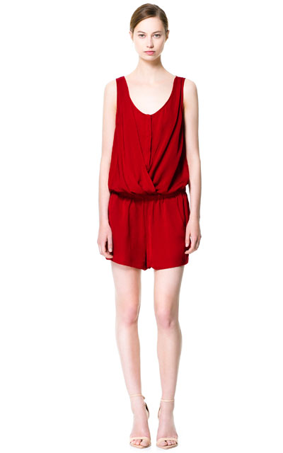 Trendy Zara style playsuit for the summer