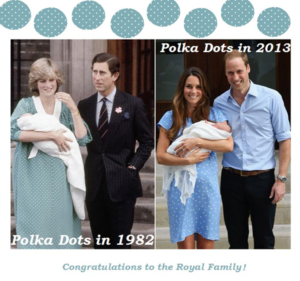 How to wear polka dots like a princess