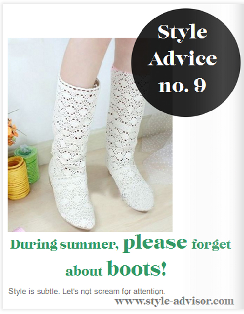 Style Advisor boots for summer fashion