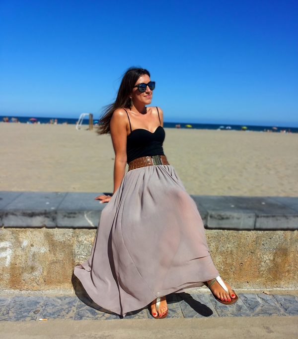 Summer trend: The long skirt