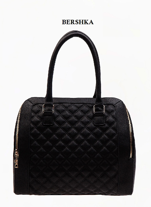 Black Bershka bag