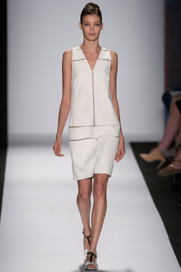 Carolina Herrera white work dress