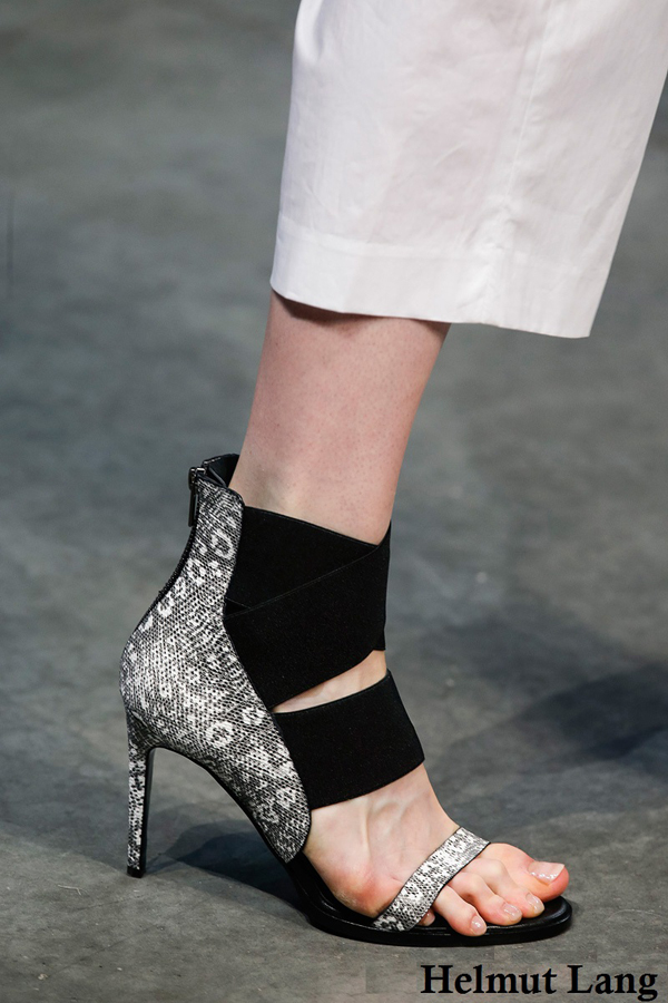 Helmut Lang shoes for 2014