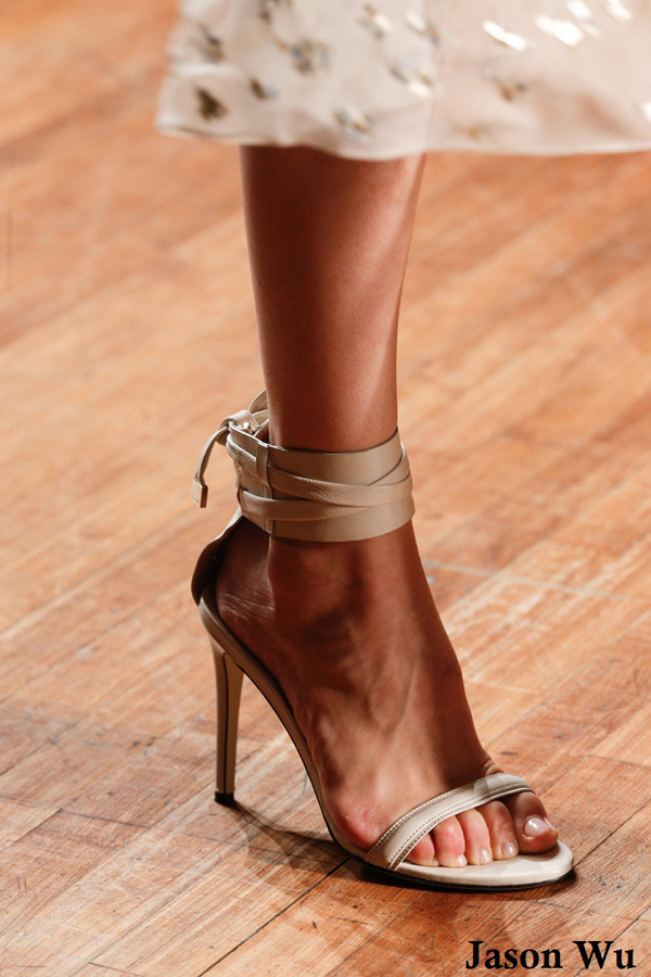 Jason Wu beige sandals
