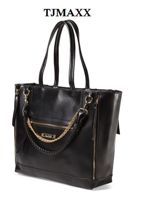 Trendy TJ Maxx office bag black for work