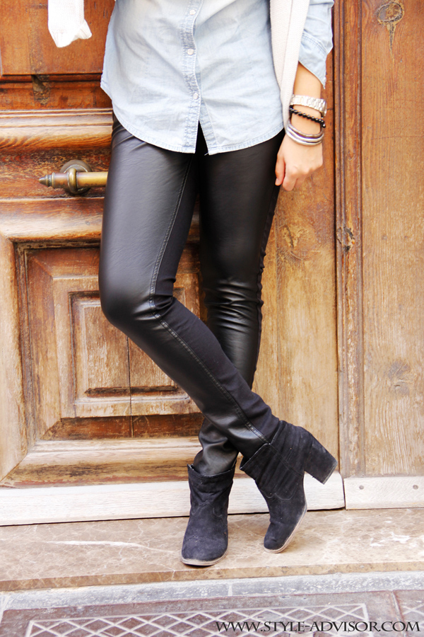 style-leather-pants-denim-shirt-boots