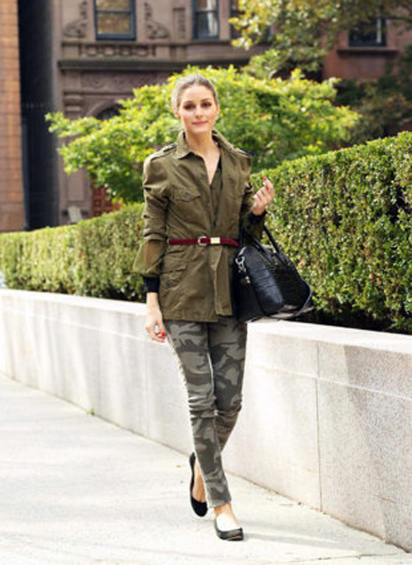 Army pants from Olivia Palermo