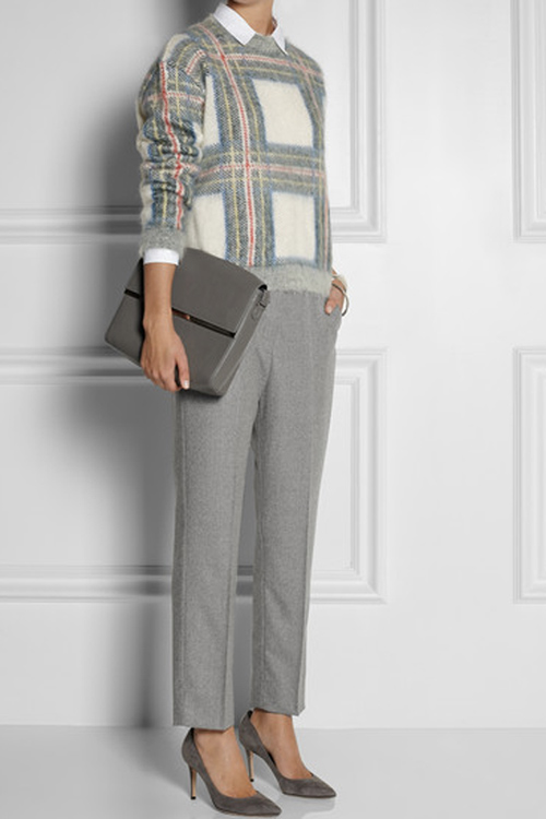Stella McCartney tartan plaid print