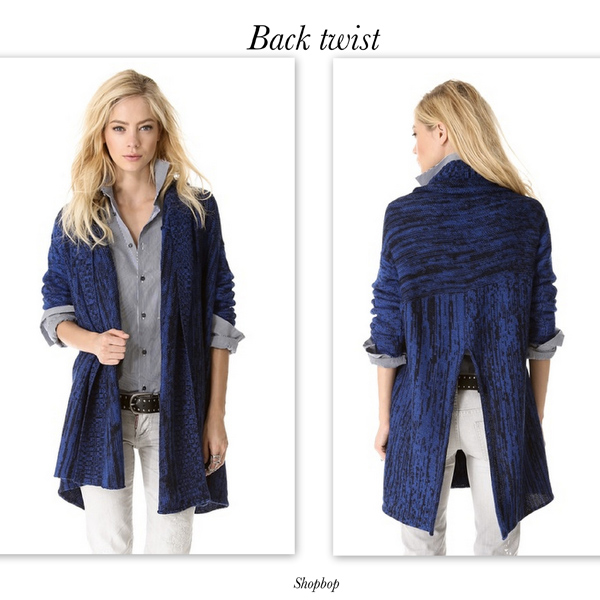 Cardigan blue shopbop, trends for spring 2014