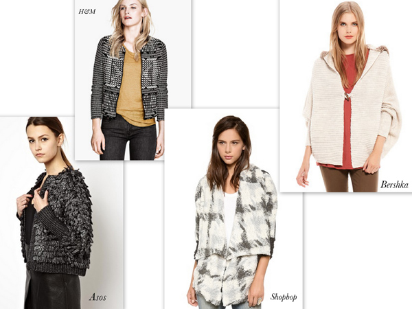 Cardigan by Shopbop, cool office trends for 2014