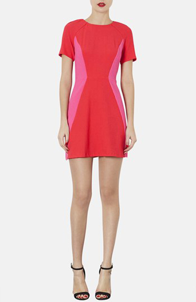 Topshop dress for rectangle body shape