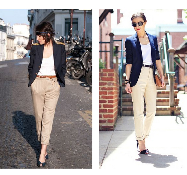 beige-trousers-white-shirt-blazer-to-office-work
