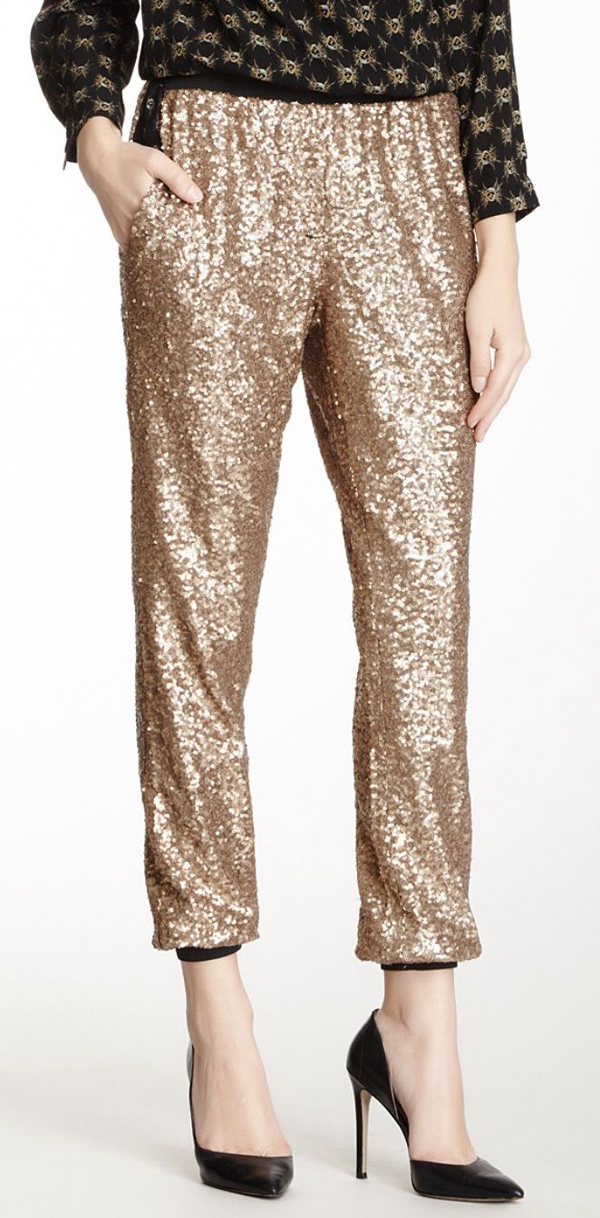 Sequin pants for going out