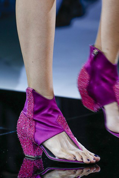 Shoes 2014 by Giorgio Armani, what to wear next year