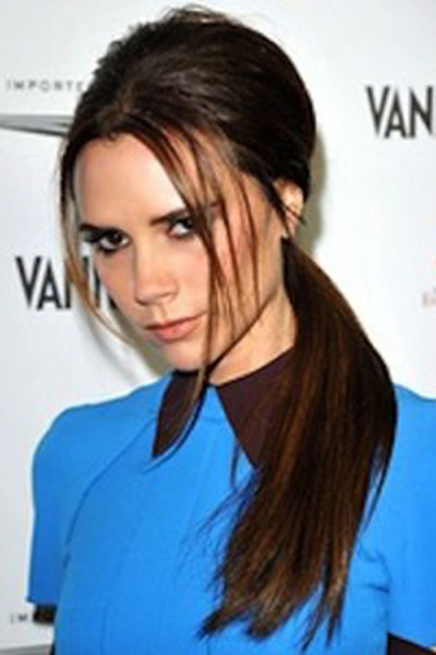 Victoria Beckham ponytail hair, do elegant and trendy