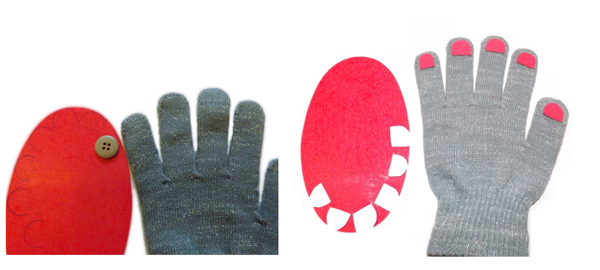 gloves--diy-with-nails-pink-step-2