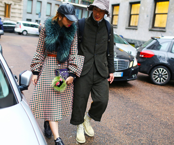 Street style inspiration at Milan Fashion Week