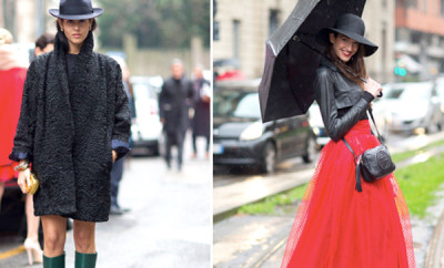 style advisor milan paris fashion week trends hats-on-from-mfw