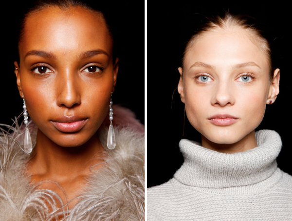 Makeup for black women and blue eyes from Ralph Lauren