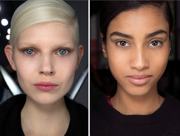 Makeup tips for blonde and black girls: Inspiration from NYFW