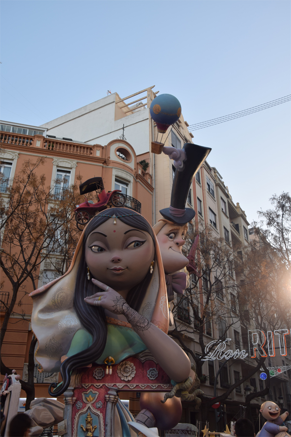 A random photo during Las Fallas