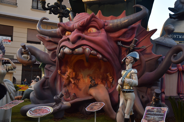 Random photo during Las Fallas