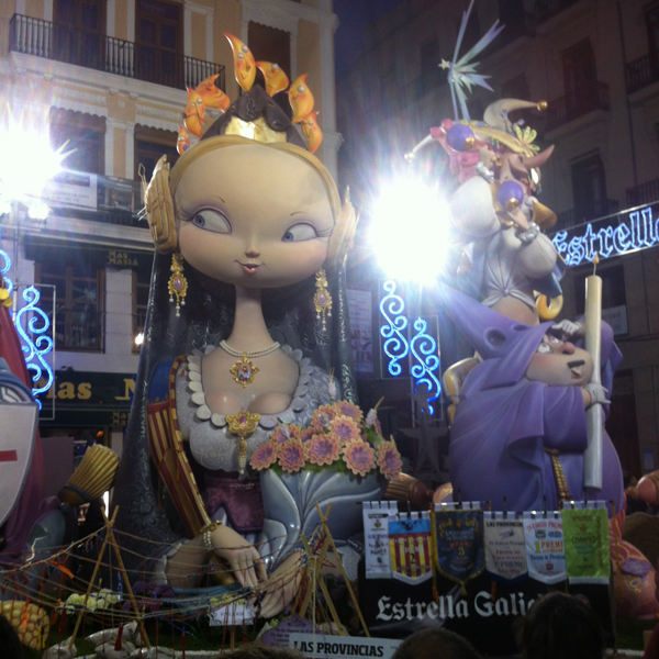 Las Fallas: Beautiful festival