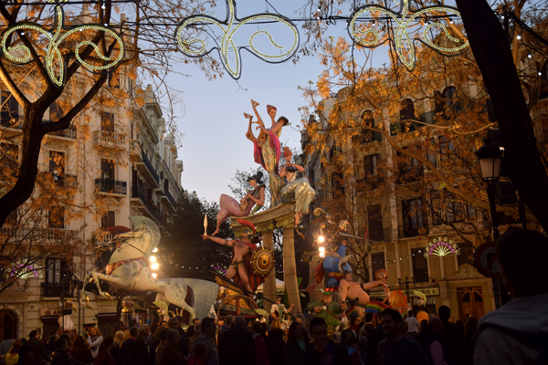 Beautiful shots from Las Fallas