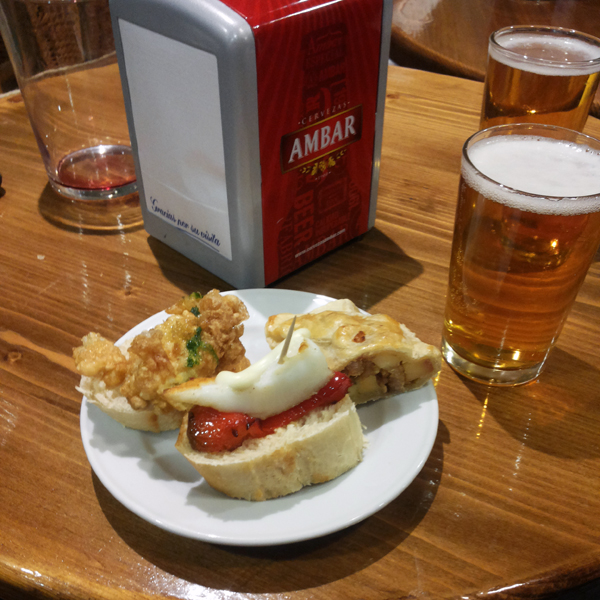 Spanish tapas to Benidorm