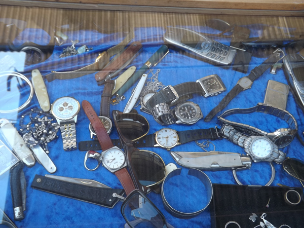 Watches and old Nokia phones