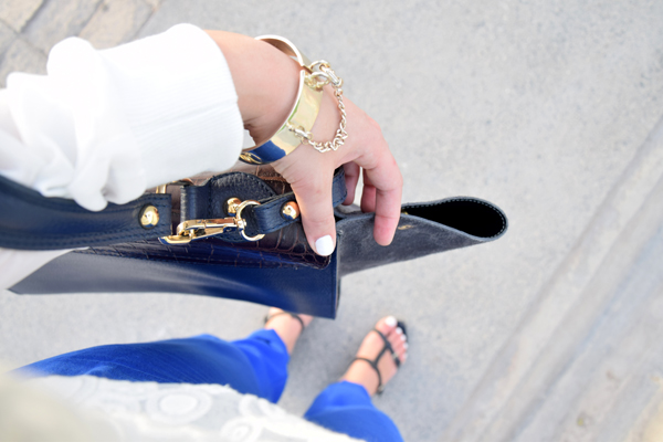 dior handbag and golden chanel bracelet in doha qatar