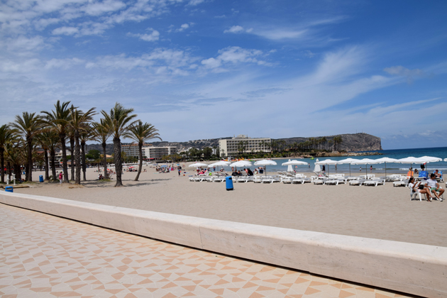 Javea in- Spain: The best beach