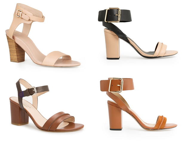 Beige sandals, black sandals from Mango. They are trendy this summer by Style Advisor