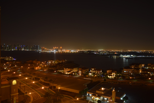photo from pearl of doha in qatar