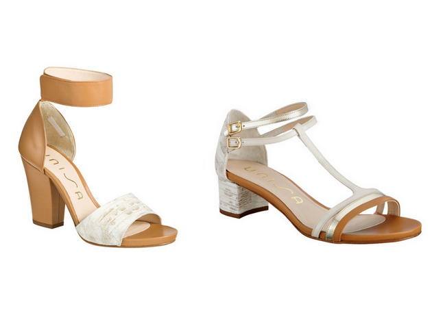 Sandal trends in brown, white by Style Advisor and fashion blogger