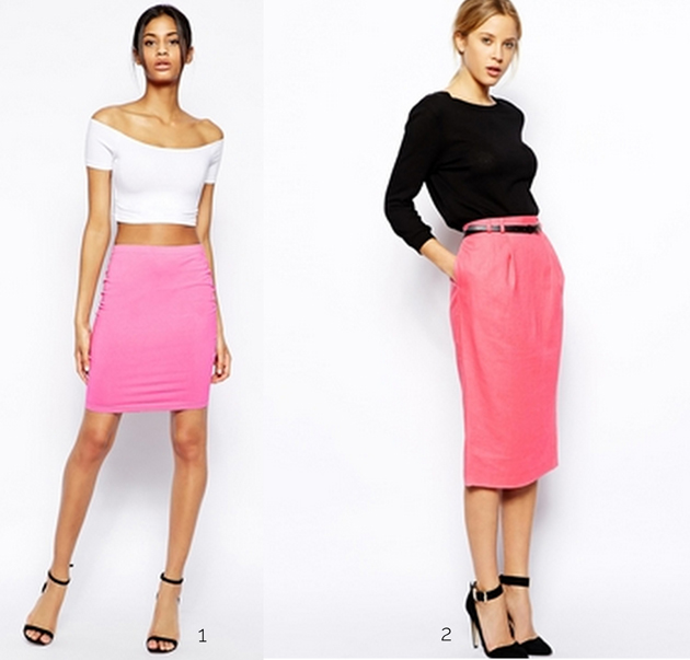 Woman wearing pencil skirt from Asos. Style tips by Style Advisor