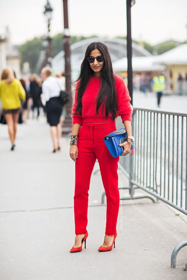 all-red-outfit-street-style