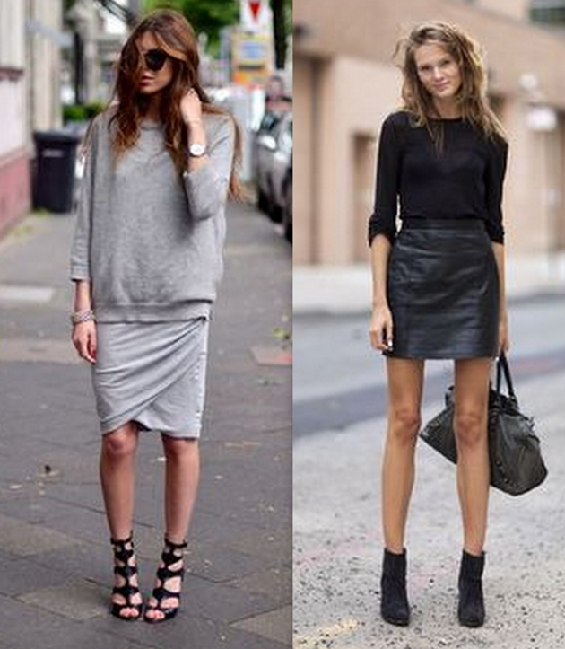skirts-and-sweaters for fall