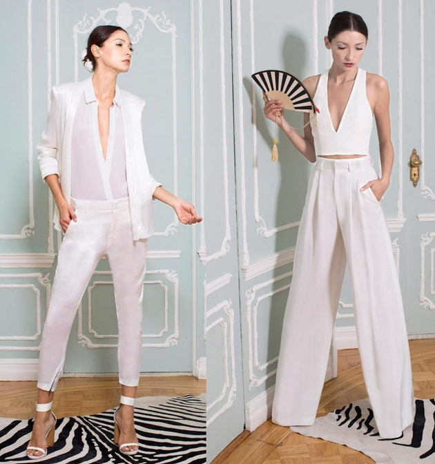 white-suit-for-women from Alice+Olivia