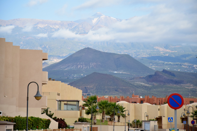 view to teide in tenerife