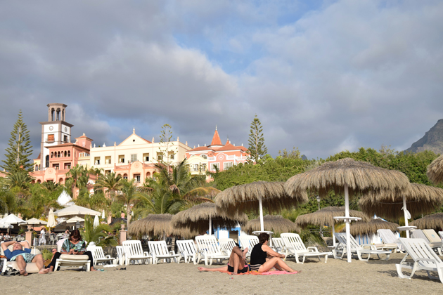 beach el duque in tenerife