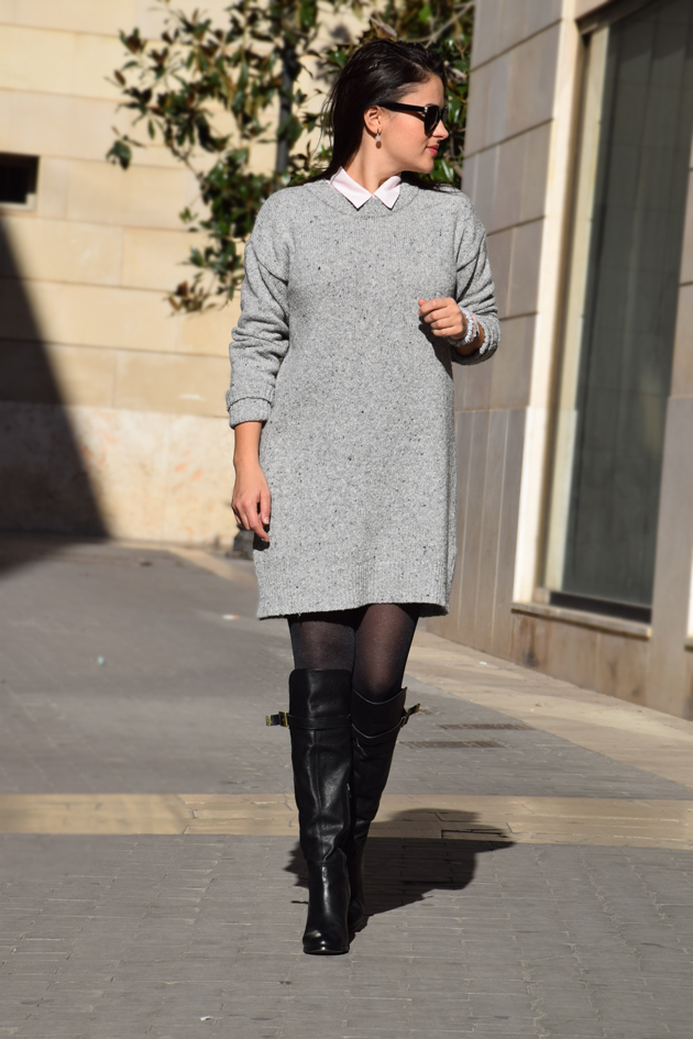 Office Look For Winter The Sweater Dress By Style Advisor