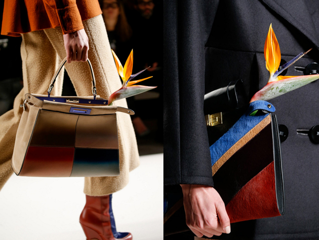 bags in many colors by fendi