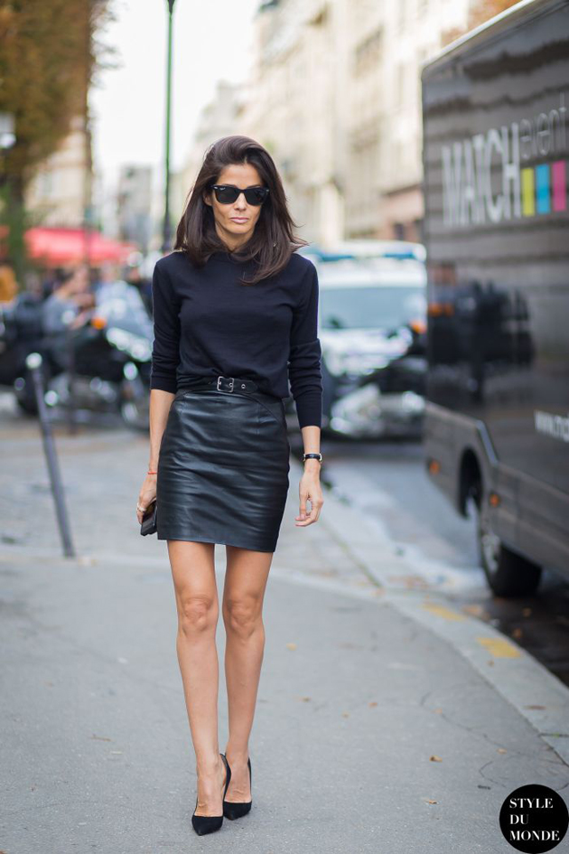 leather-skirt-to-office