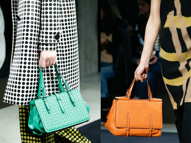 strong colors bags is trendy