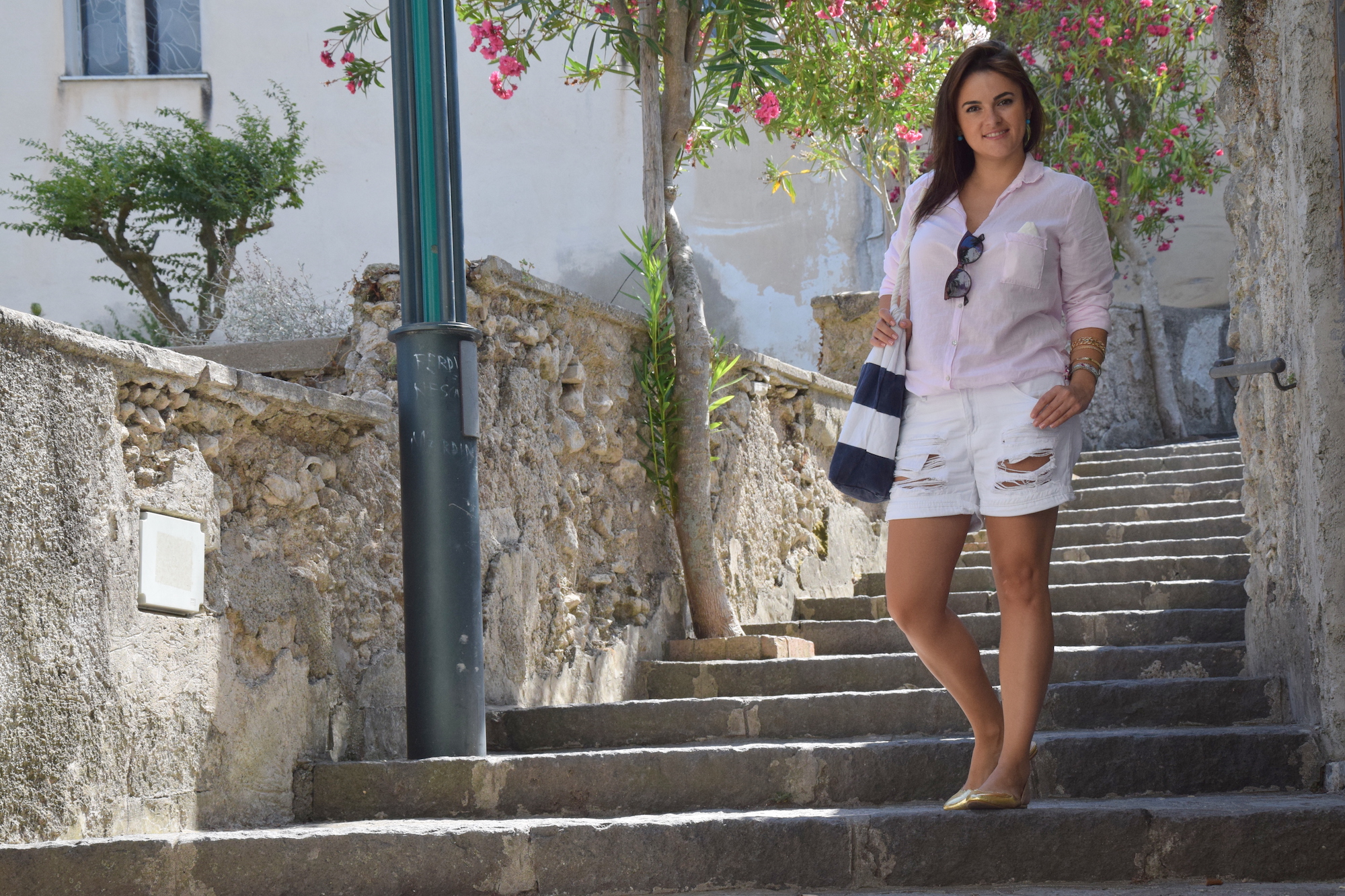 shirt french look for summer outfit