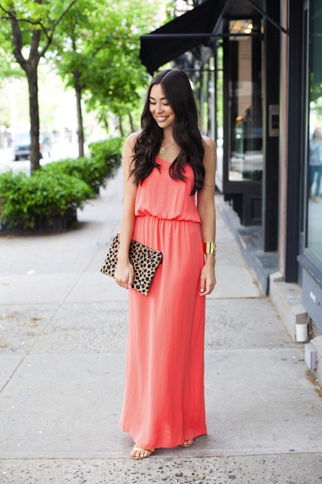 bright colored-maxi-dress